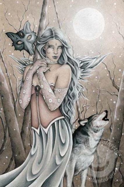 Fairy Magyk Ecards Jessica Galbreth Winter Wood