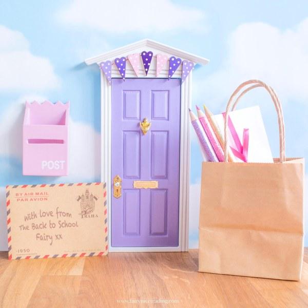 back to school fairy door