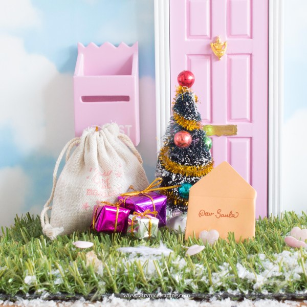 miniature Christmas tree for Fairy doors