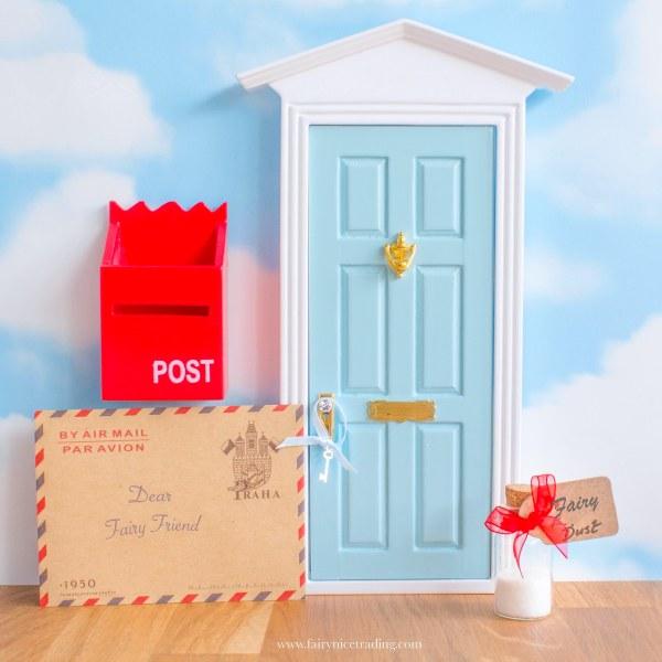 blue fairy door uk personalised