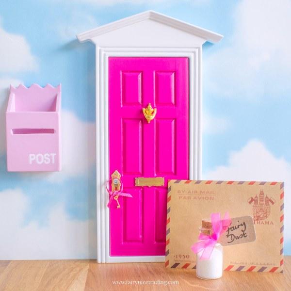 bright pink fairy door uk
