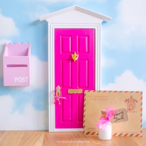 bright pink fairy door uk