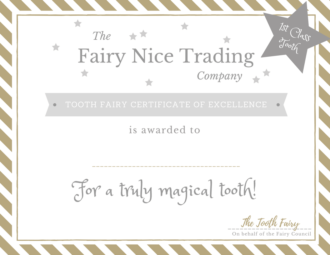 photo about Free Printable Tooth Fairy Certificate known as No cost printable Enamel Fairy certification The Fairy Awesome