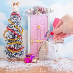 Christmas fairy doors