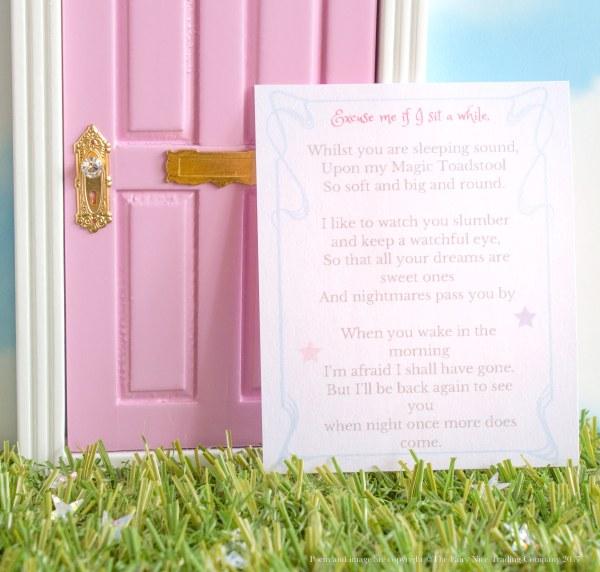 Fairy Toadstool poem