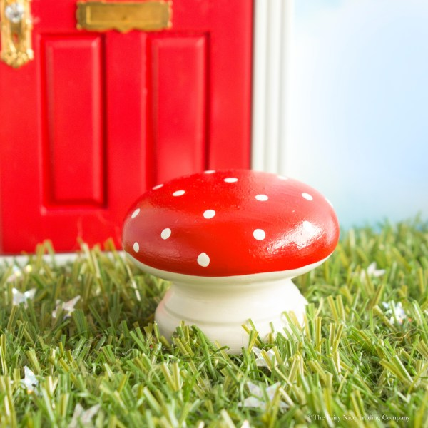 red magic toadstool for fairies