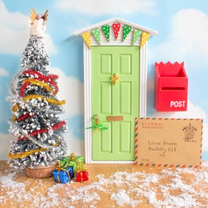 Complete Christmas Elf Door set