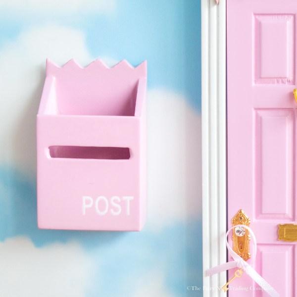 Pink Fairy Post Box