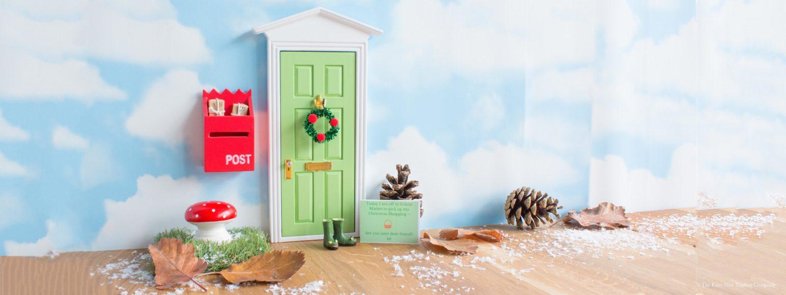 Green Elf Door Banner