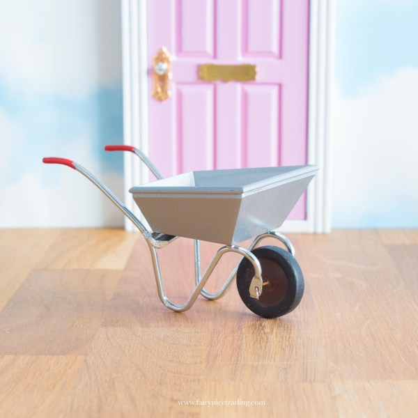miniature wheelbarrow for Fairy Garden