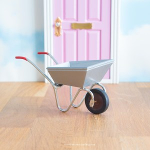 miniature wheelbarrow for Fairy Garden