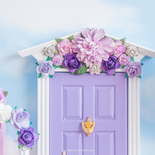 flower wall fairy door uk