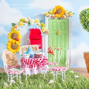 sunflower fairy door