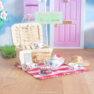 picnic accessory set for fairy doors uk
