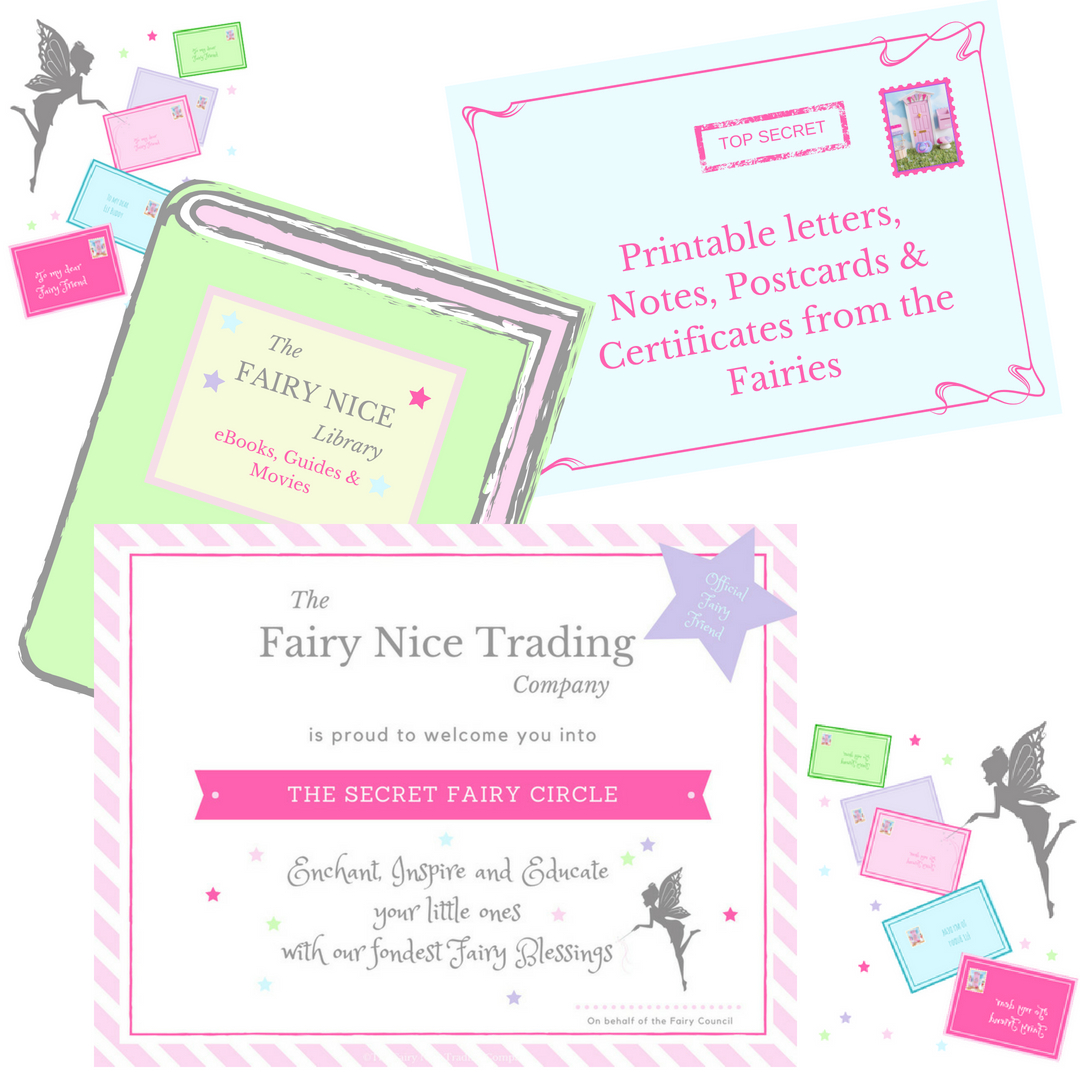 picture relating to Tooth Fairy Printable Letter named Enamel Fairy Doorway mounted