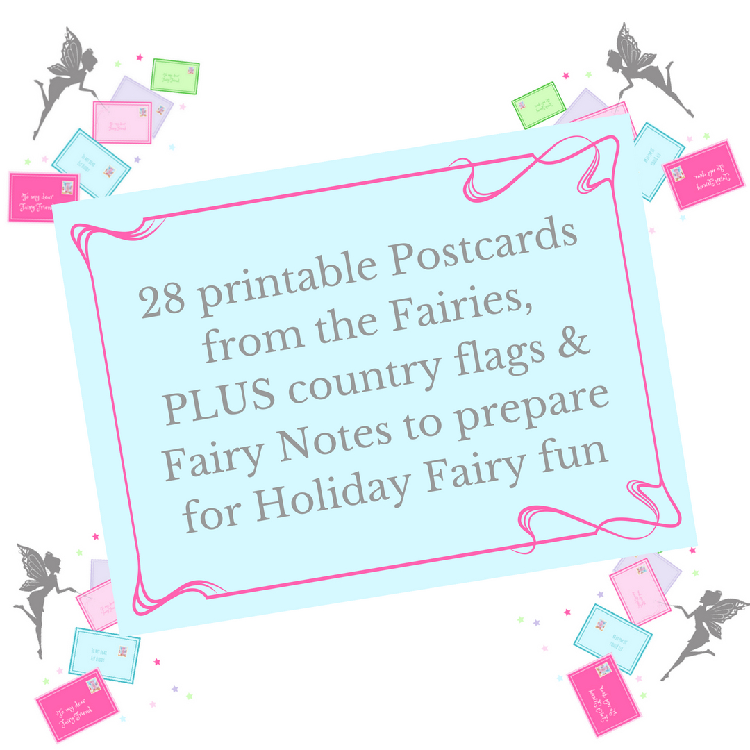 photo about Printable Post Cards identify 28 Printable Fairy Postcards The Fairy Good Investing Business