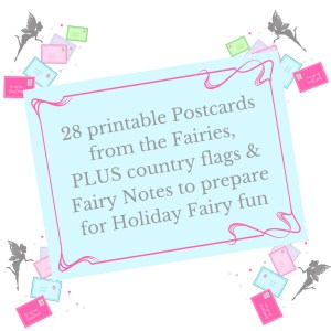 printable Fairy postcards