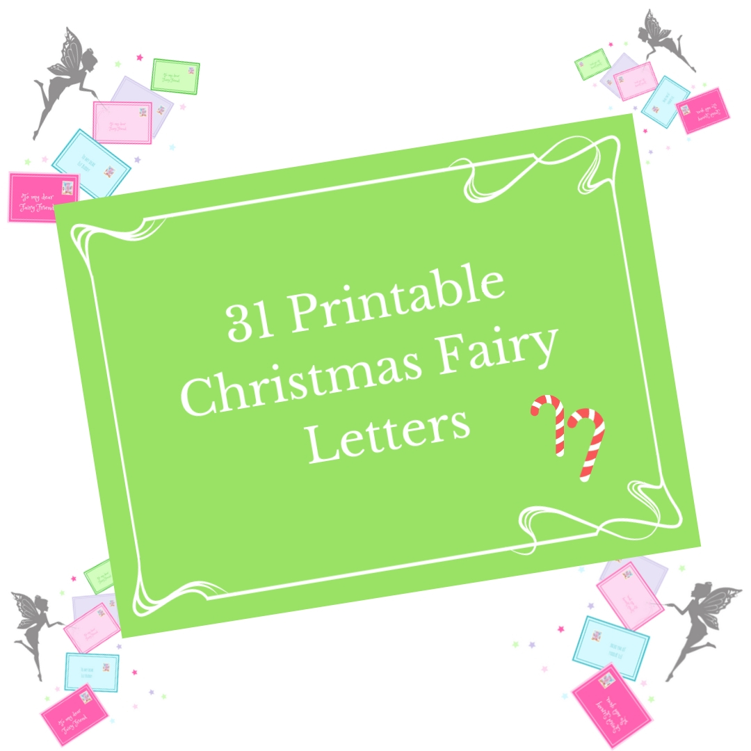 graphic regarding Printable Christmas Letters identified as 28 Printable Fairy Postcards The Fairy Great Investing Business enterprise