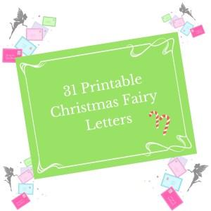 printable christmas fairy letters for fairy doors