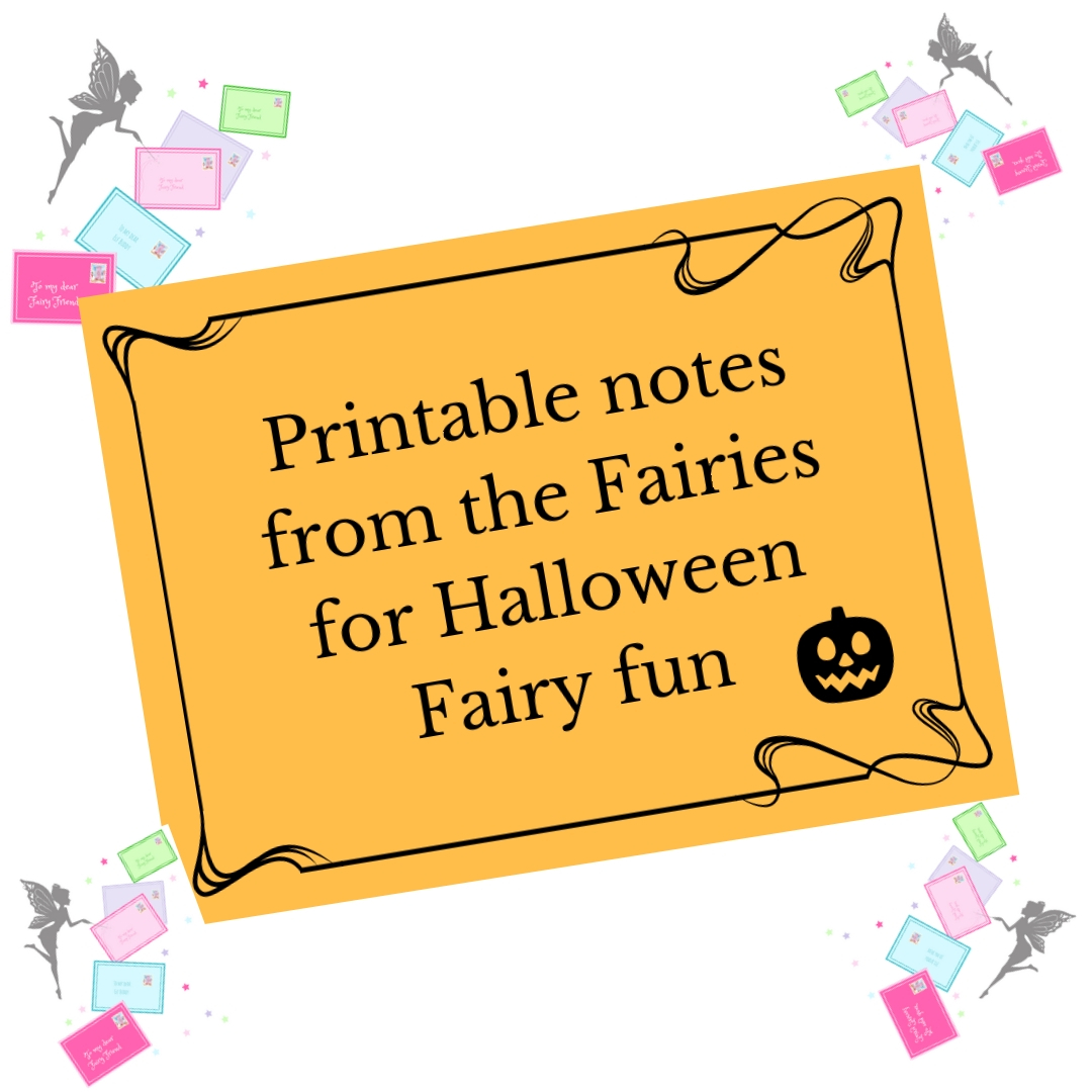 printable fairy letters for halloween