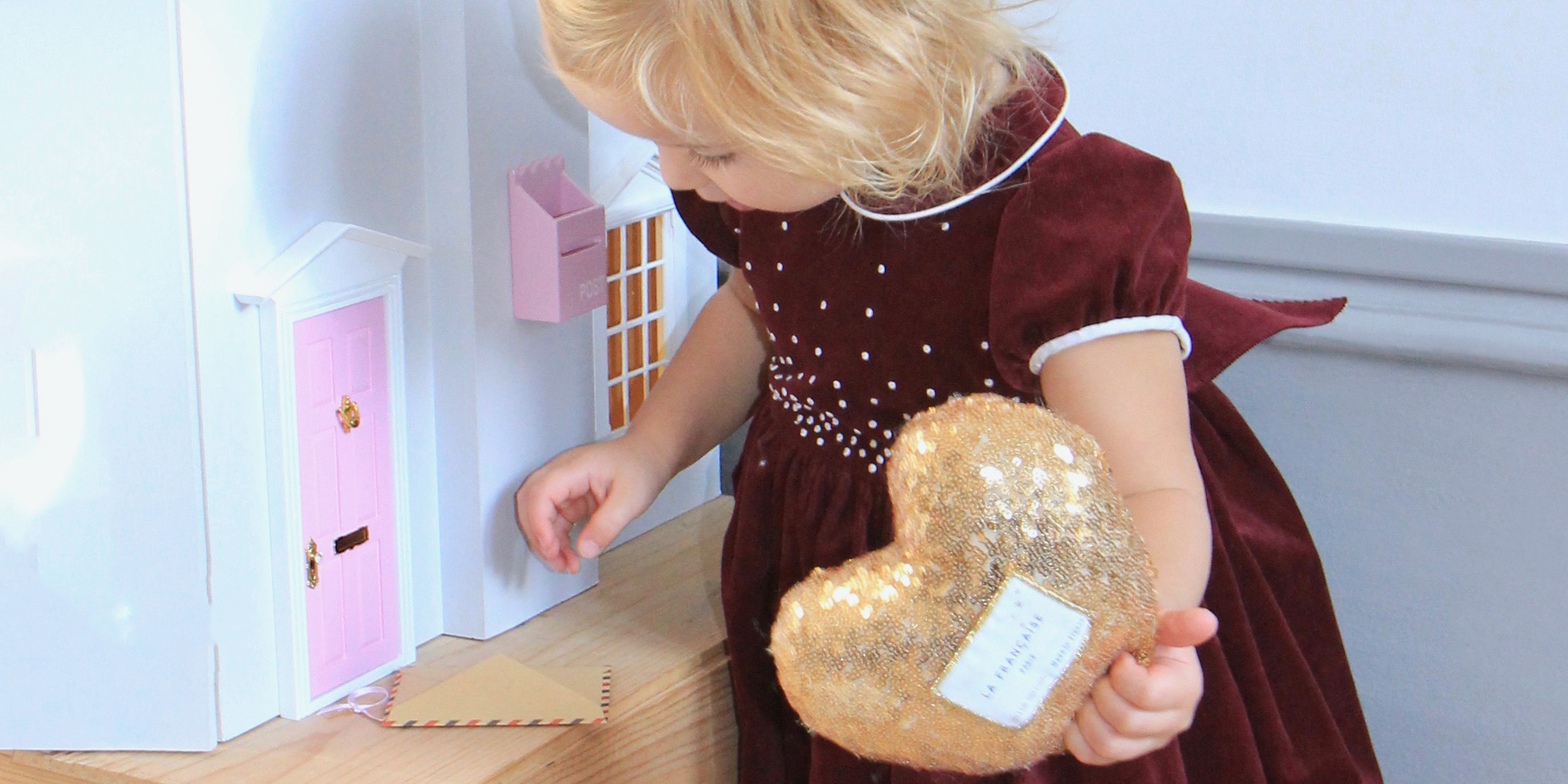 finding the fairy door at christmas