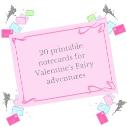 Valentine's Fairy letters