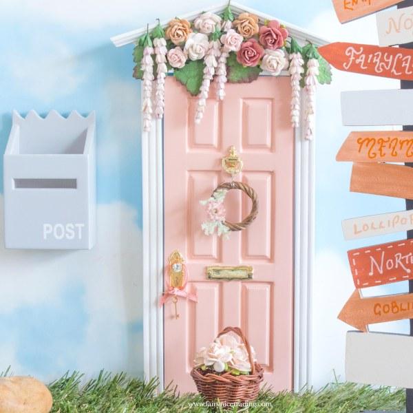 blush wisteria wishes fairy door