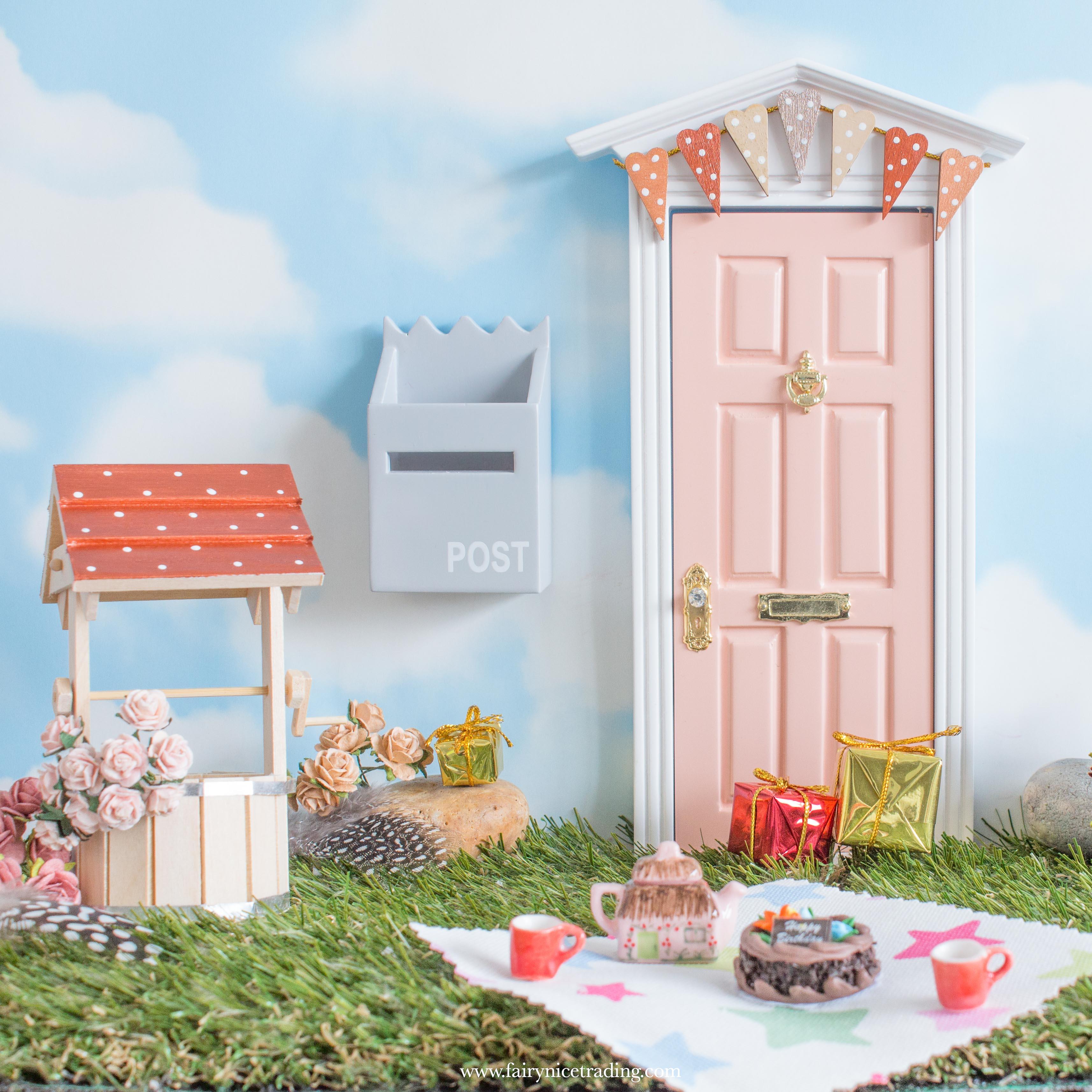 blush fairy doors