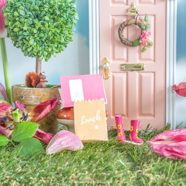 Back to school printable fairy letters
