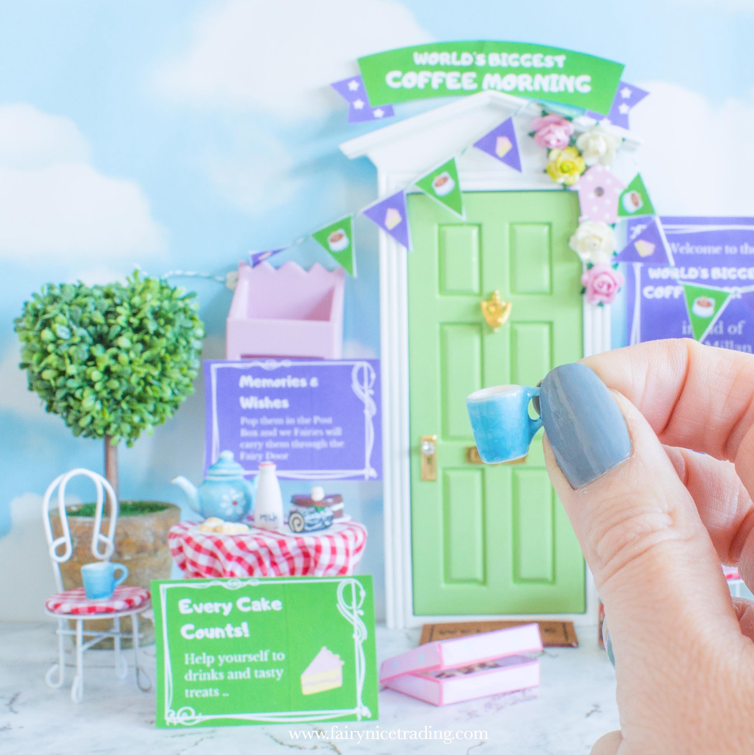 tiny fairy cup for fairy doors