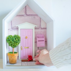 pink fairy door personalised