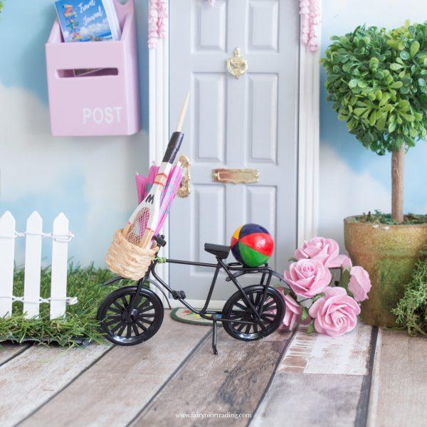 black miniature fairy bike
