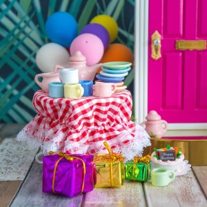 birthday fairy door accessory set