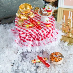 miniature christmas fairy food