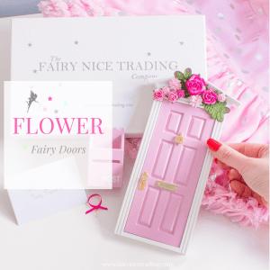 Fairy Doors with flowers