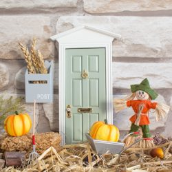 Miniature scarecrow