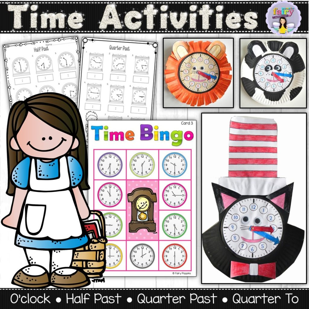 Telling The Time Activities
