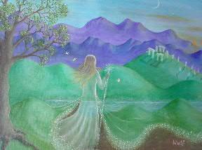 Brigit's Mantle - copyright Bernadette Wulf - faery testimonials