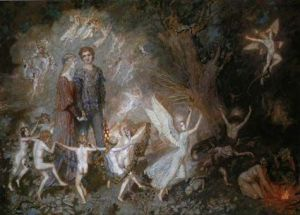 Irish Celtic faeries