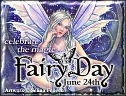 International Fairy Day - June 24th - faery reiki attunements
