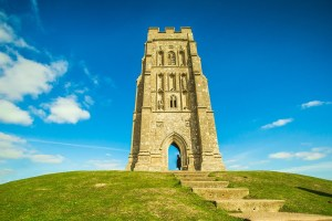 Glastonbury Tor public domain image