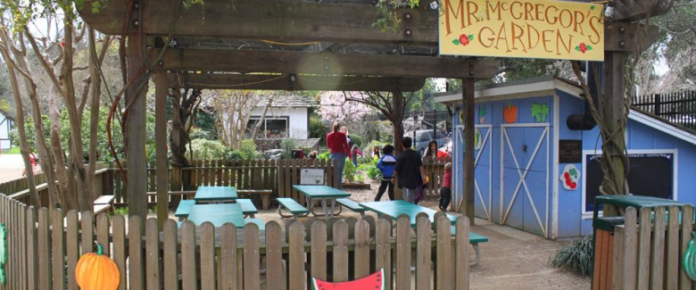 Green Thumb Party in Mr. McGregor's Garden birthday party package at Fairytale Town in Sacramento