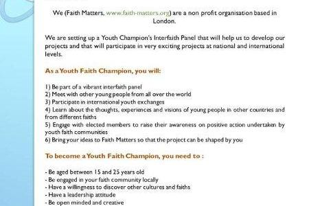 Youth Faith Champions