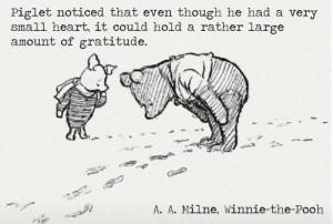 piglet gratitude