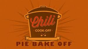 Chili Cookoff & Pie Bakeoff- Sunday, March 3