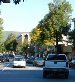 downtown bennington, VT