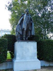 statue of franklin pierce, concord, NH