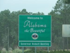FL-AL state line
