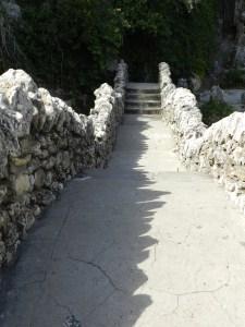 stone bridges and shadows