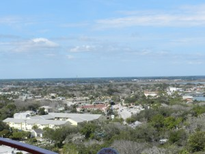 view st augustine from lighthouse, FL